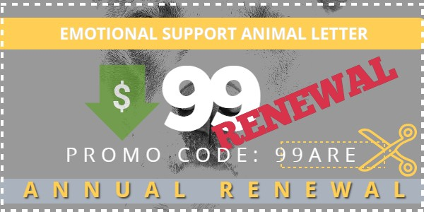 ESA $99 Annual Renewal Mango Clinic promo code
