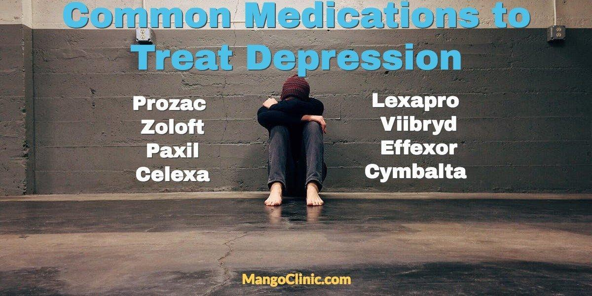 Medications for depression treatment
