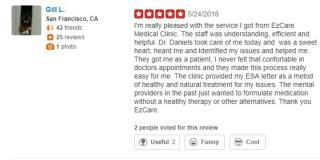 EZCare Clinic Yelp Review