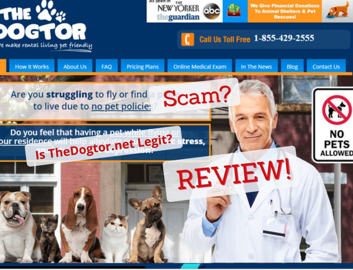 ESA Letter from TheDogtor.net Review
