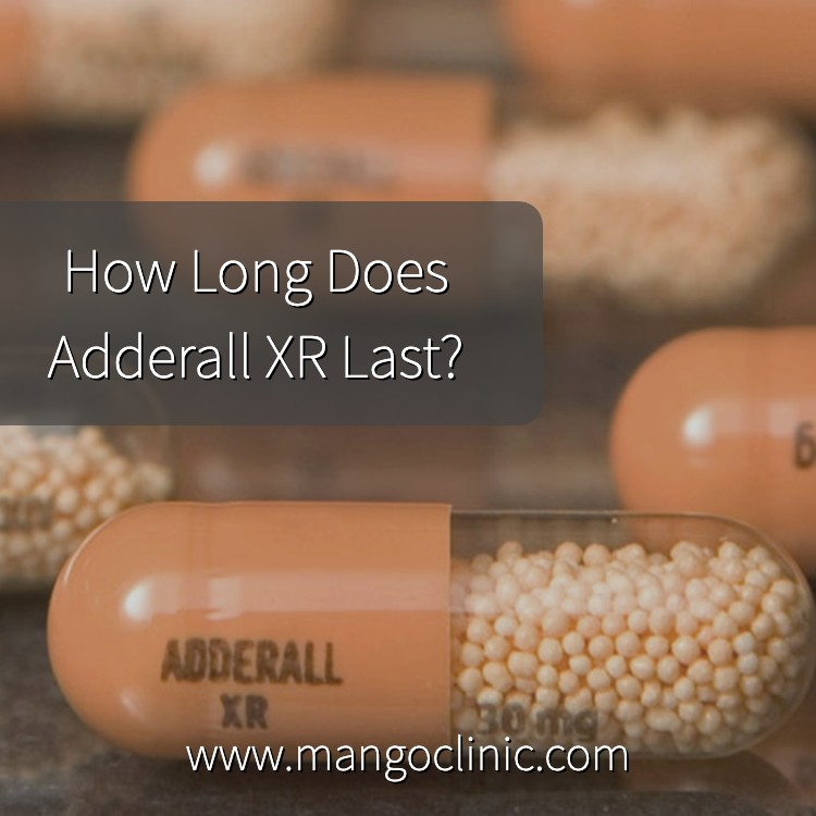 Adderall XR length of effects