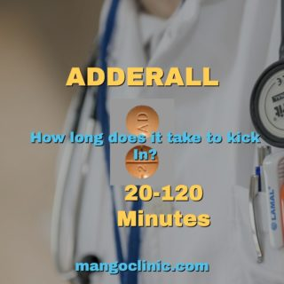 How long it takes to feel effects of Adderall? How long does Adderall last?