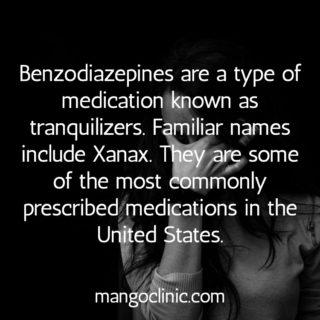 Xanax is a Benzodiazepine