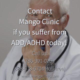Vyvanse prescription at Mango Clinic