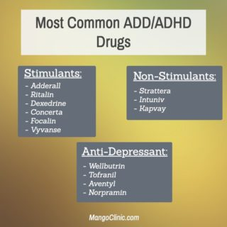 Dexedrine is an ADHD Drug