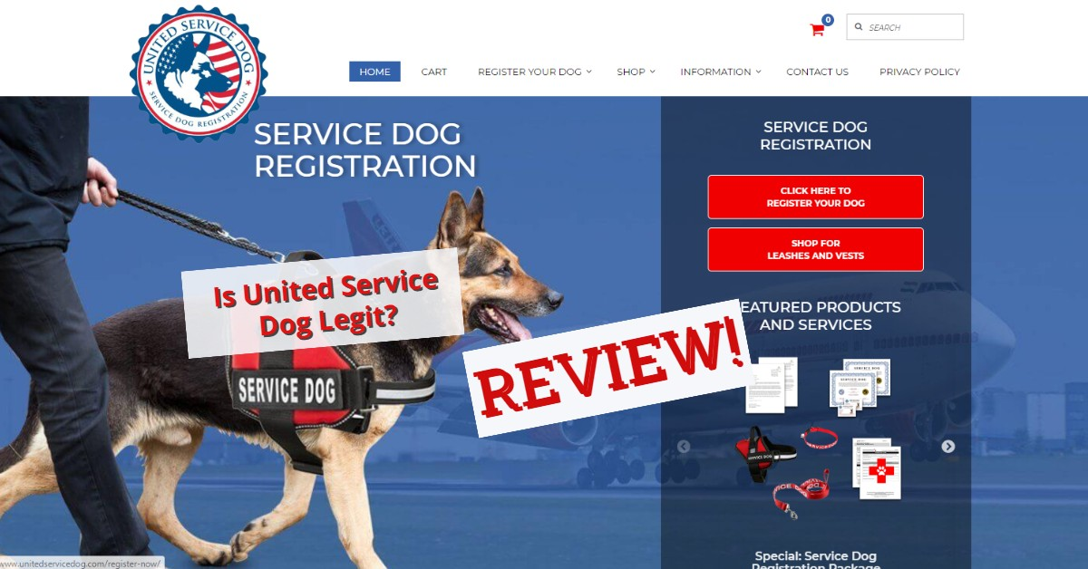 Is united service dog legit?