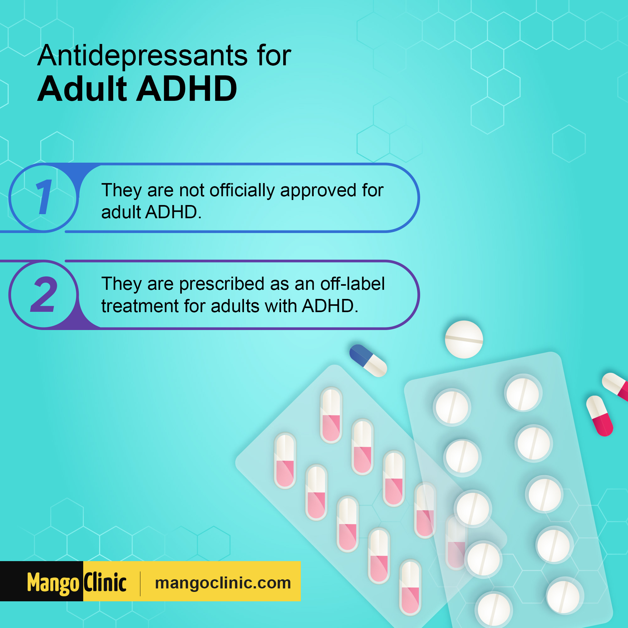 Antidepressants for ADHD
