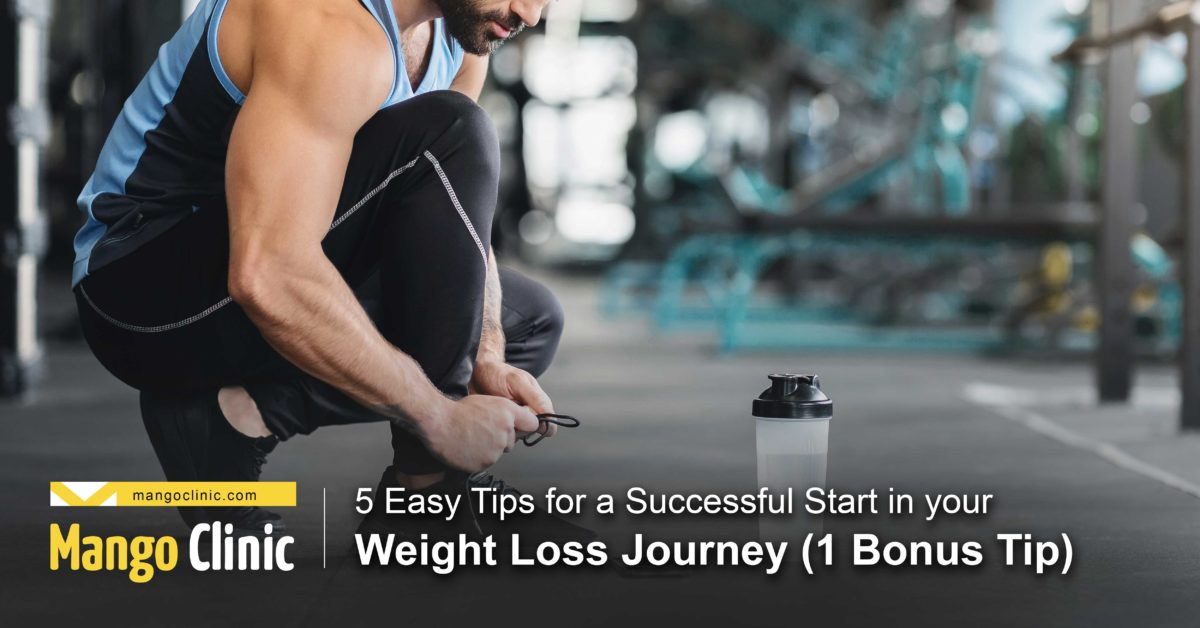 Tips to get started with weight loss journey