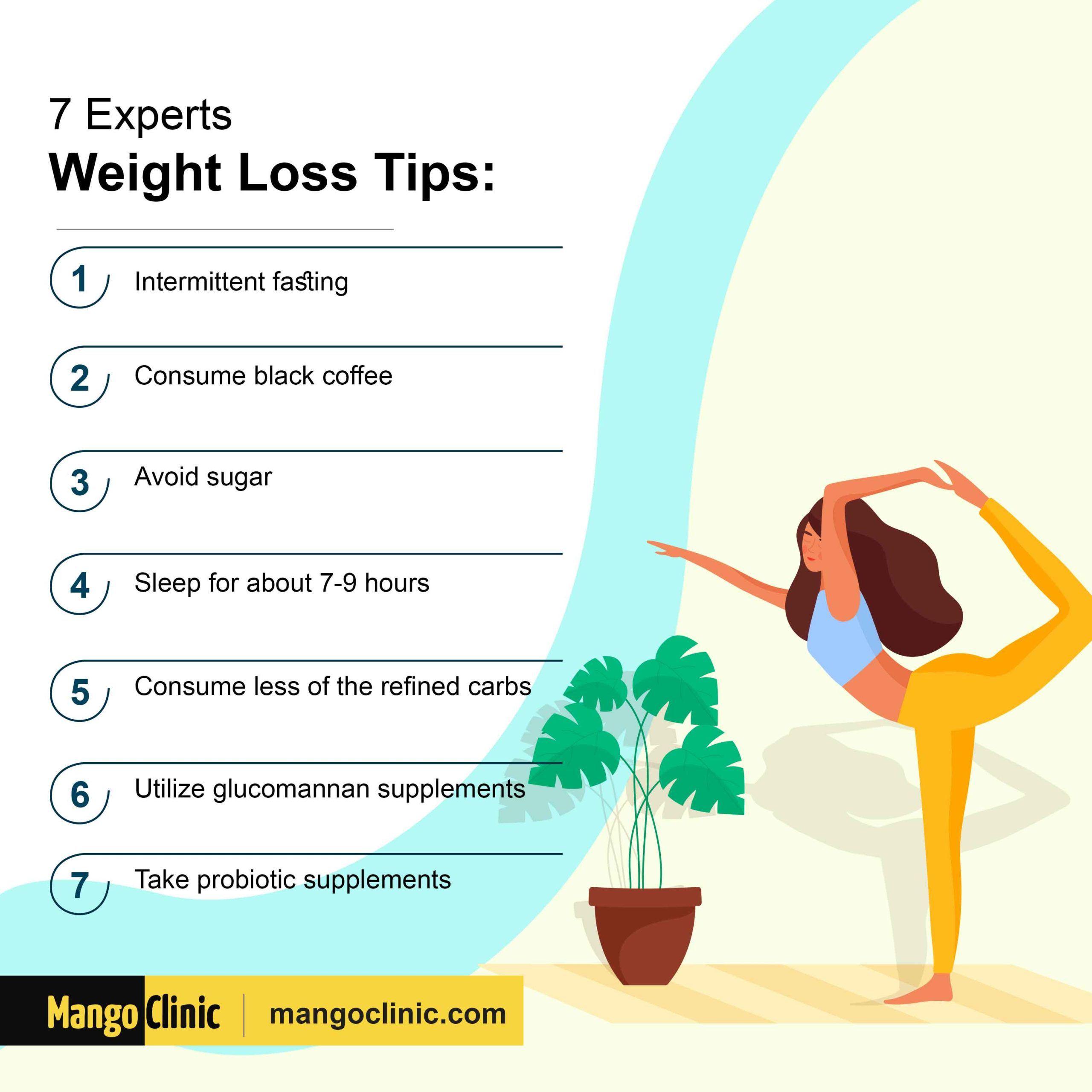 weight loss tips by experts