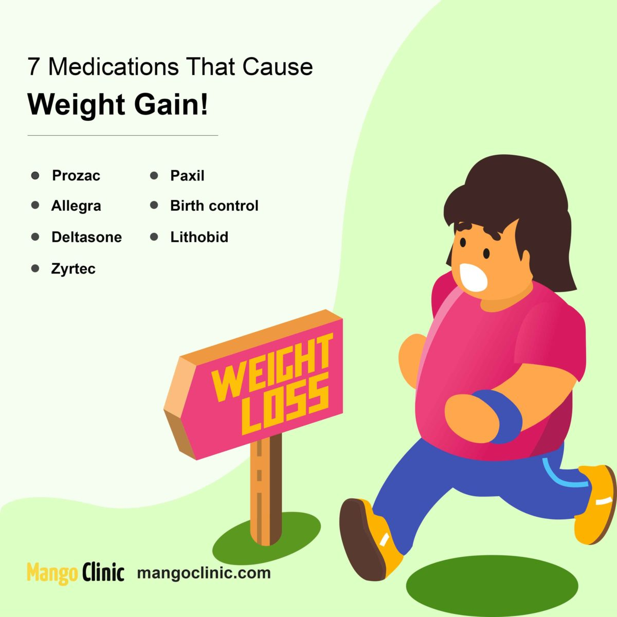 7 medications that cause weight gain
