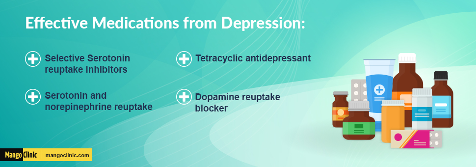 Depression's effective medications