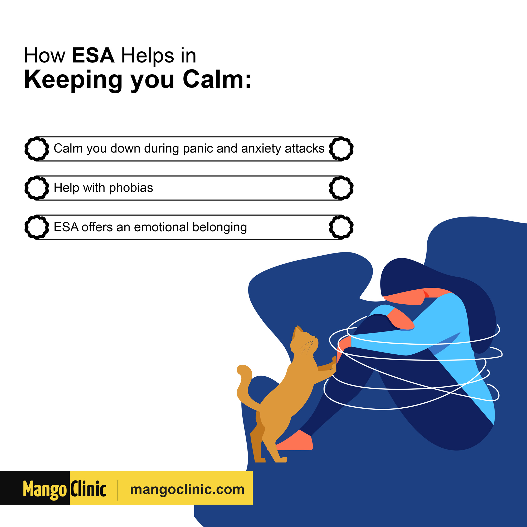 How ESA keeps you calm