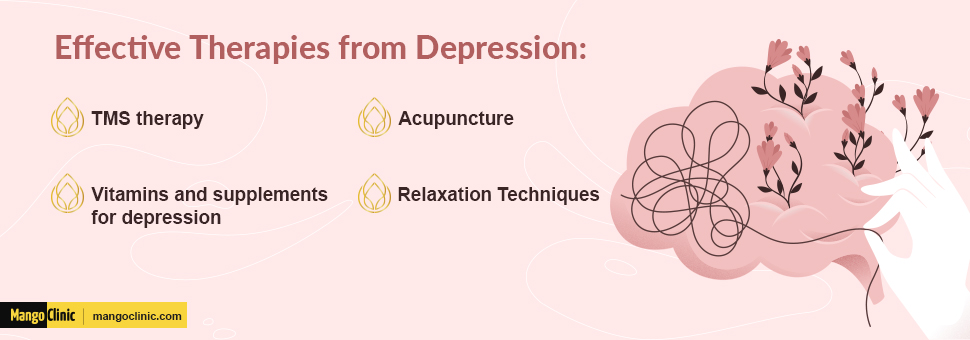 Effective therapies for depression