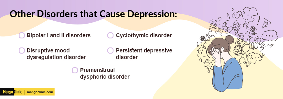 Health problems that cause depression