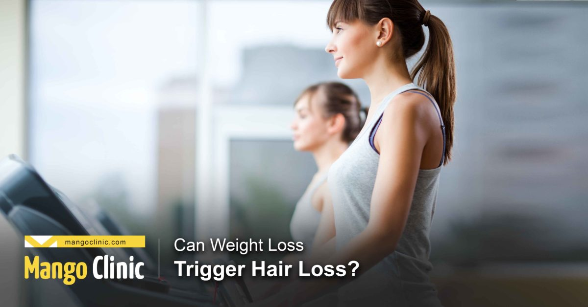 Does weight loss trigger hair loss