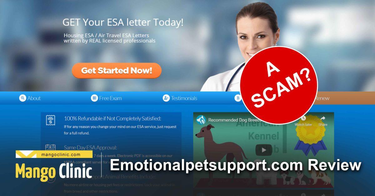 review of emotionalpetsupport.com