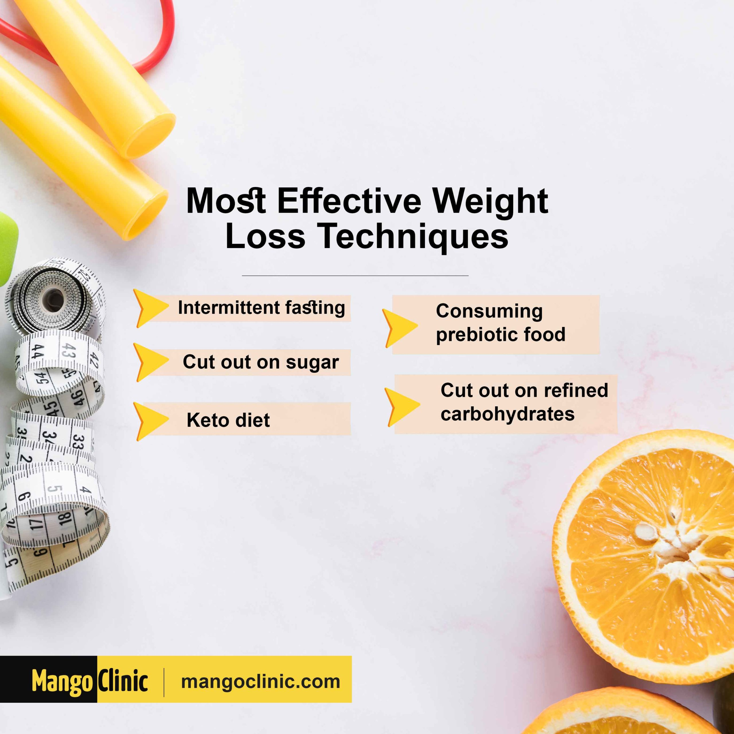 Most Effective Weight Loss Techniques