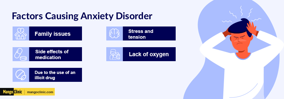 Factors of anxiety disorder