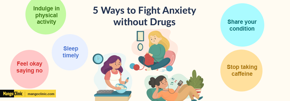 how to overcome anxiety without drugs
