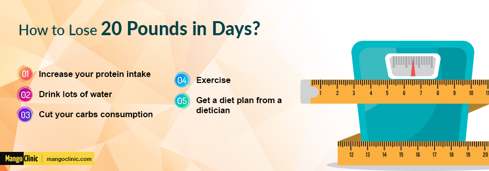 How to lose weight in days?