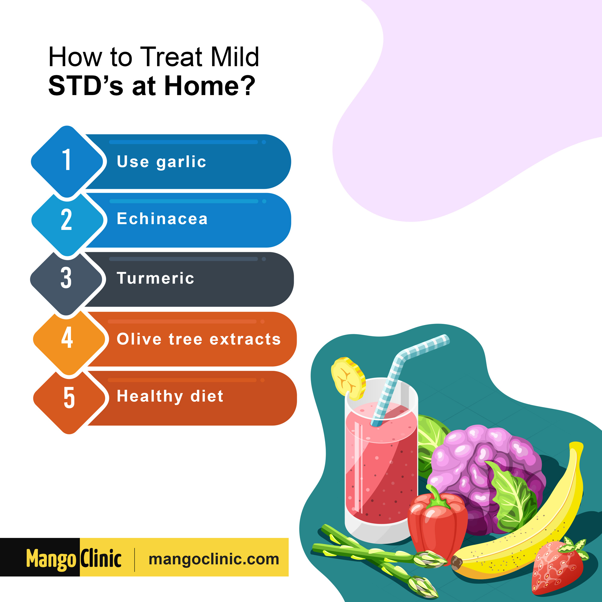 Ways to treat STDs at home