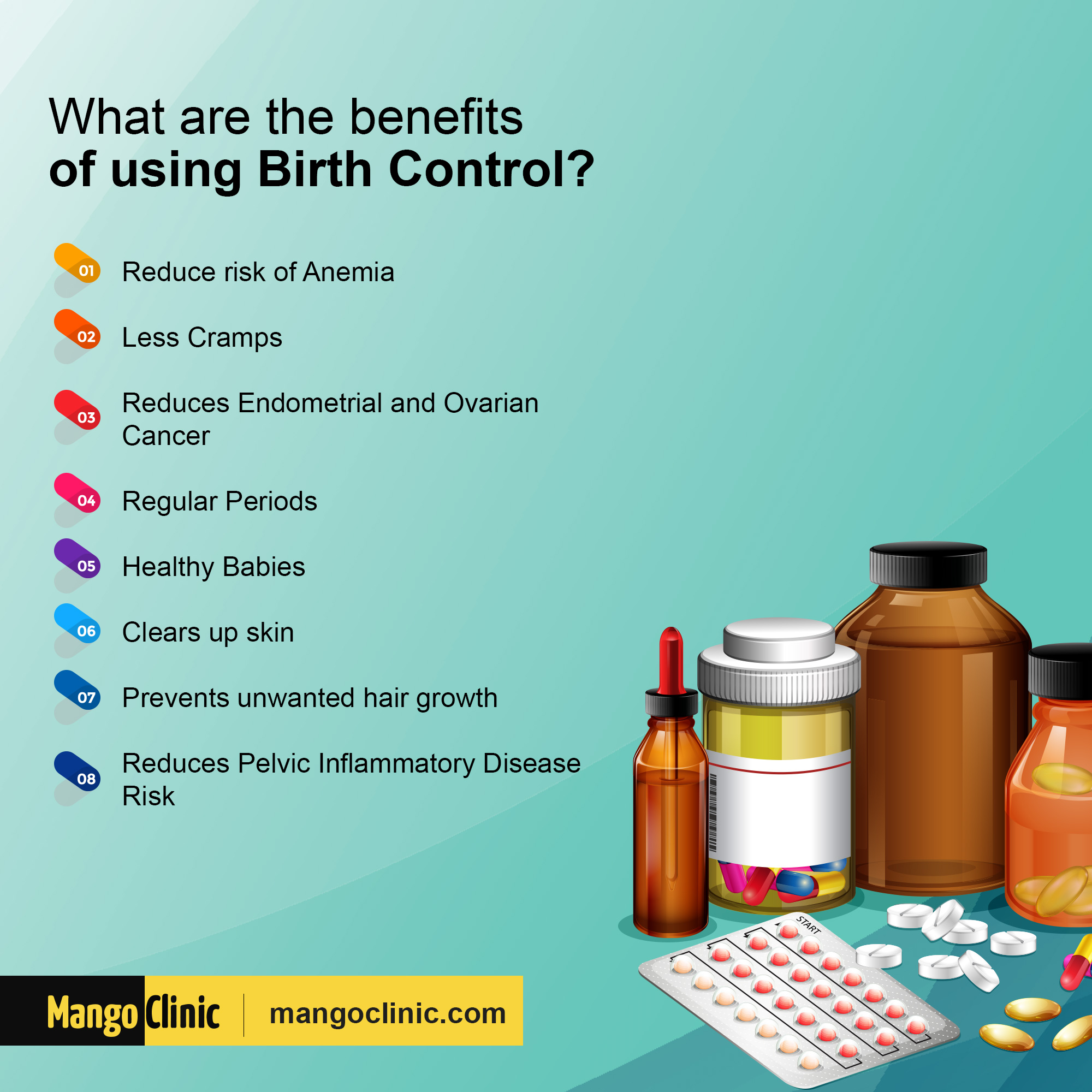 Advantages of Contraceptives