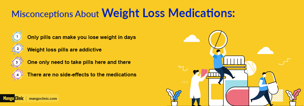 weight loss medications misconception