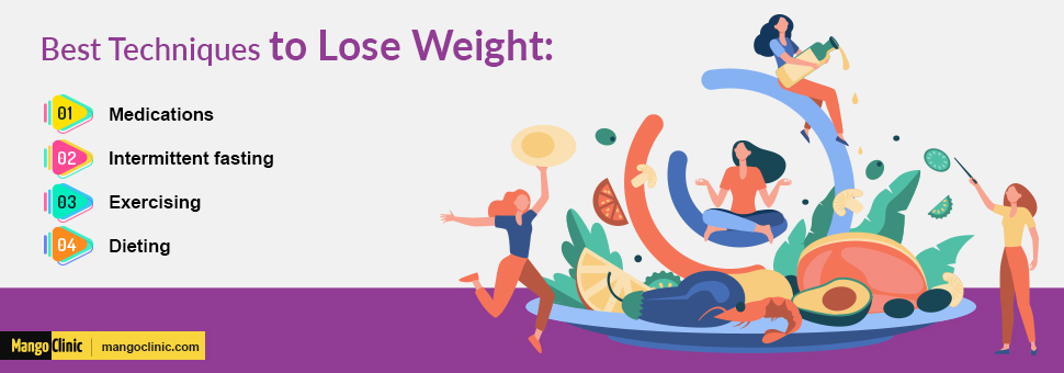Methods to lose weight