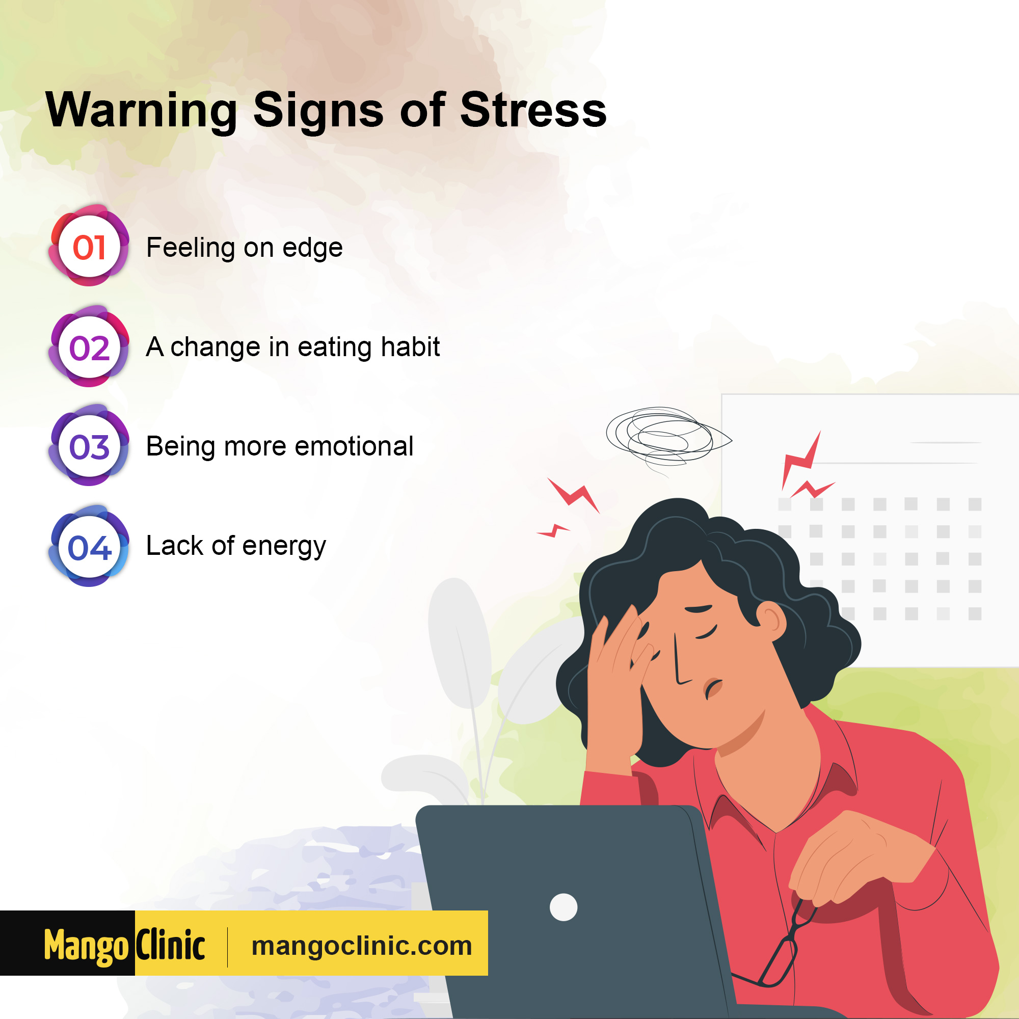 Signs of Emotional Stress