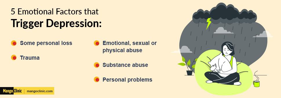 Depression triggers