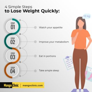 How to lose weight quickly?
