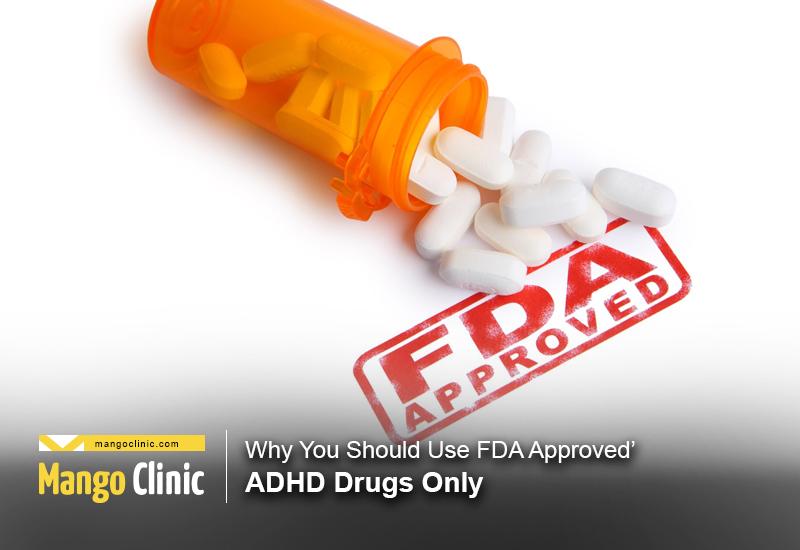FDA drugs for ADHD