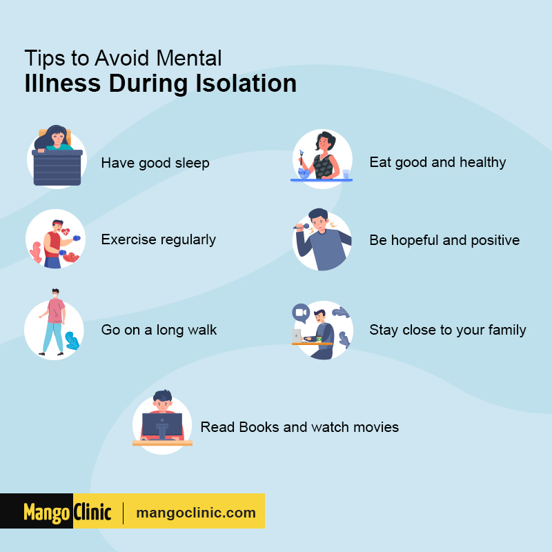 tips to survive isolation