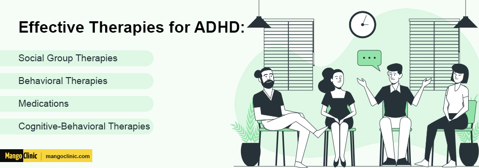 Therapies for ADHD