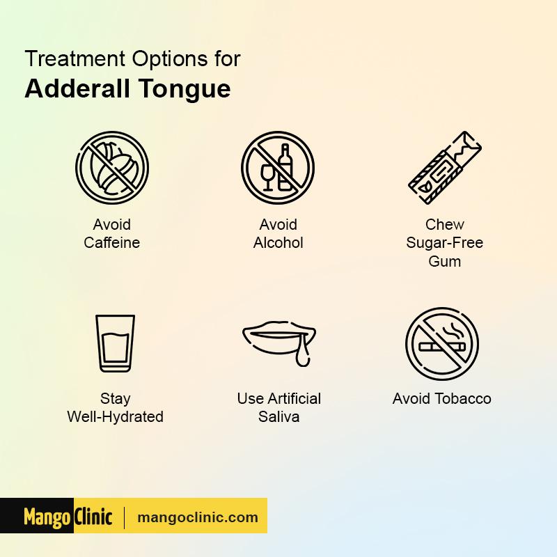 Adderall Tongue